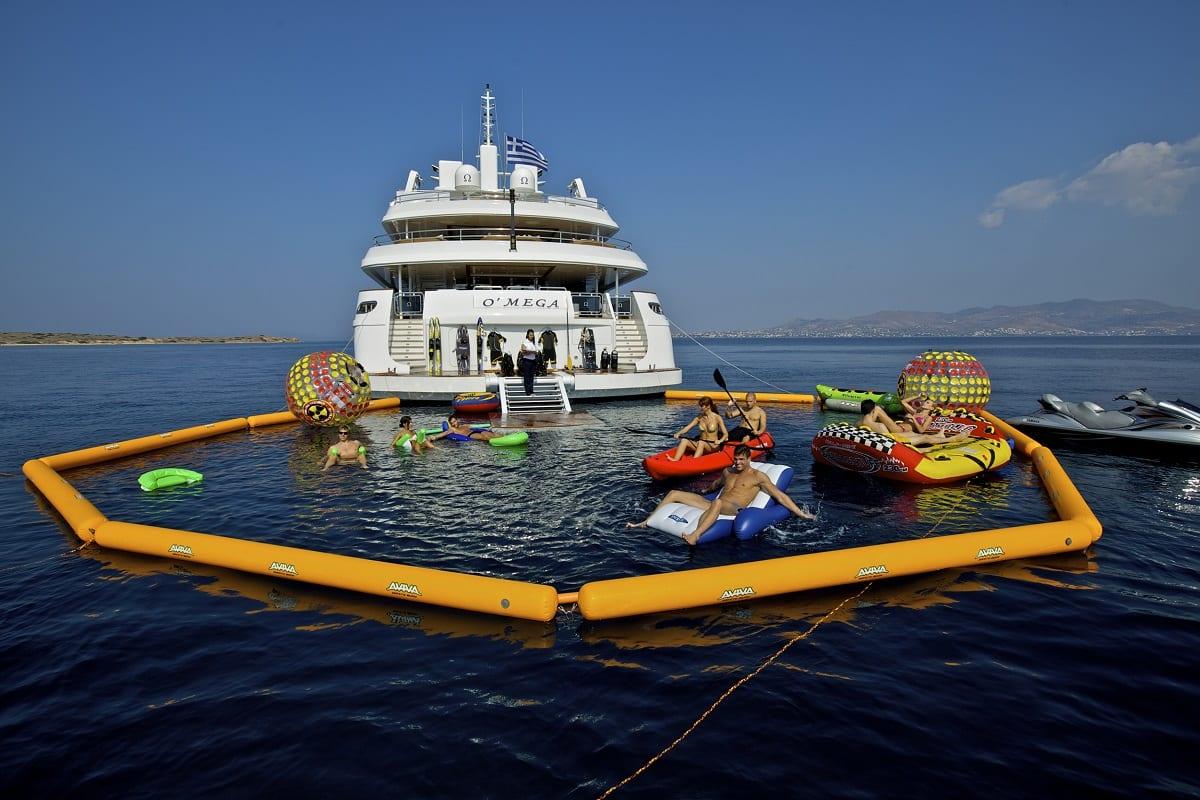 Hire The Princess 82M Omega Yacht | Princess Yacht Charter