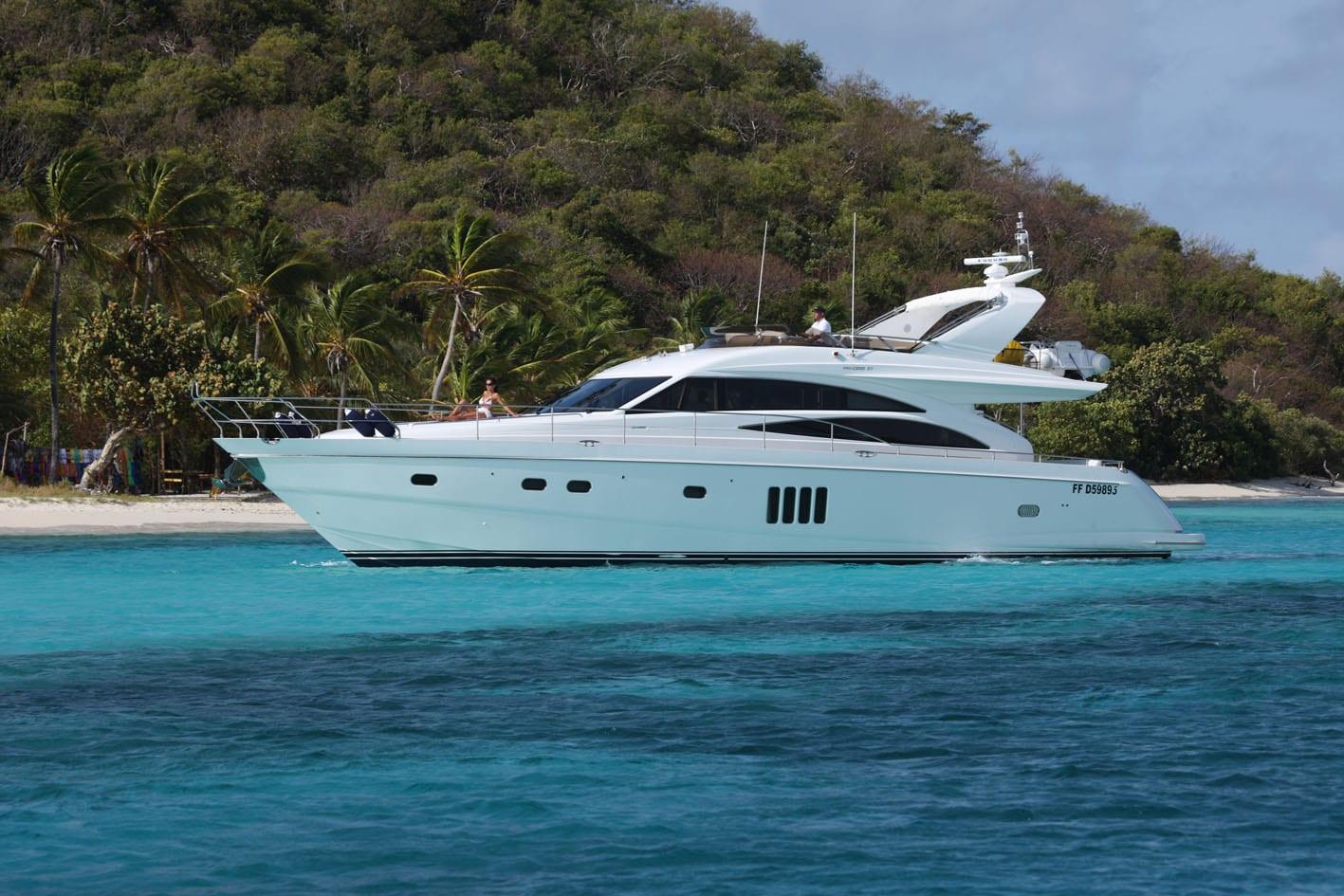 Sorana 20M Luxury yacht charter   Princess Yacht Charter