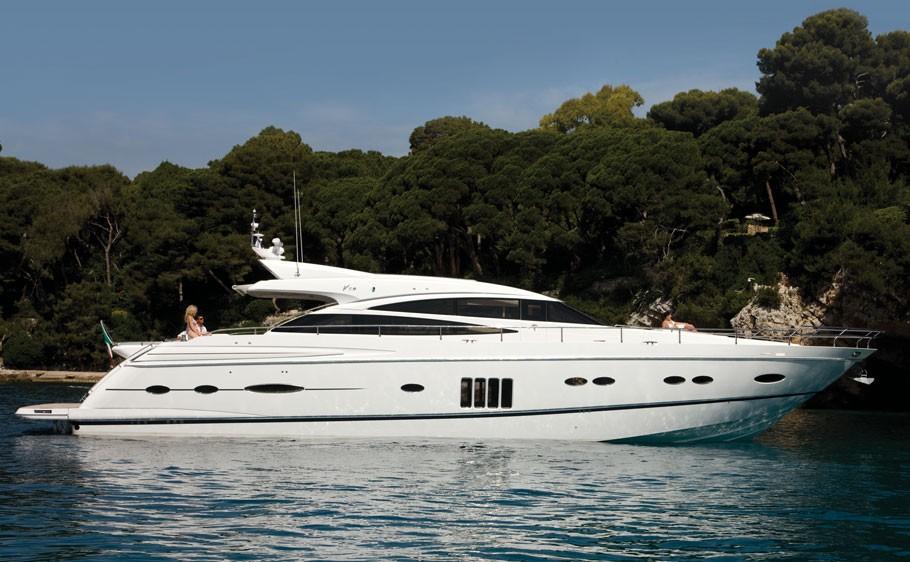 Princess V78 Yacht Charter