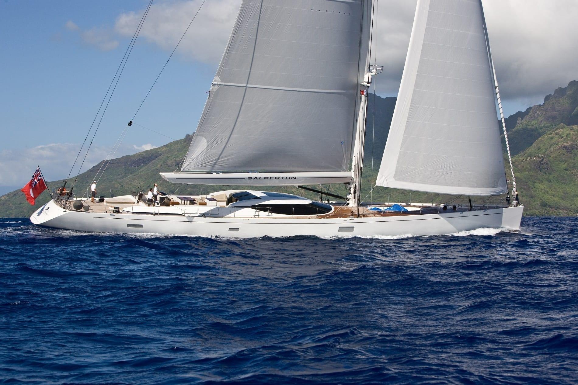 Salperton sailboat charter   Princess Charter