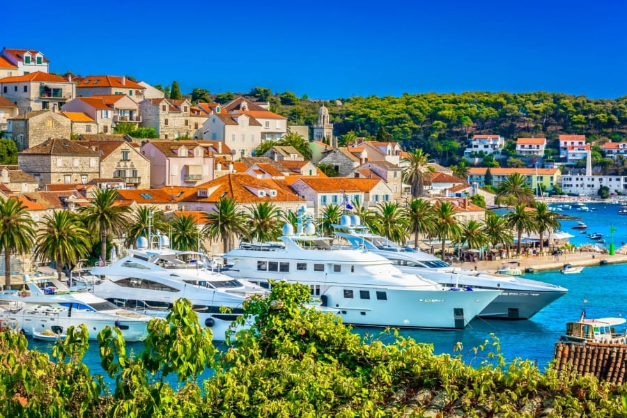 Croatia superyacht charter