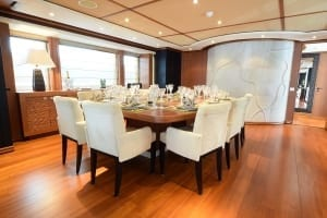 Below deck yacht
