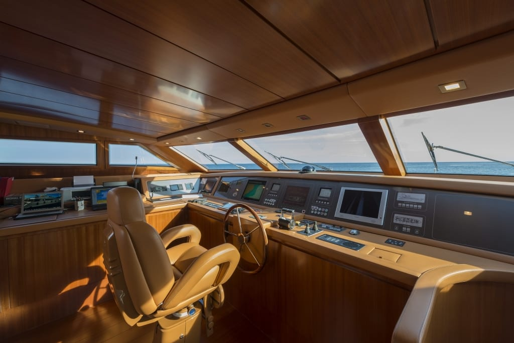 Zamolxis Yacht for Charter | Princess Yacht Charter