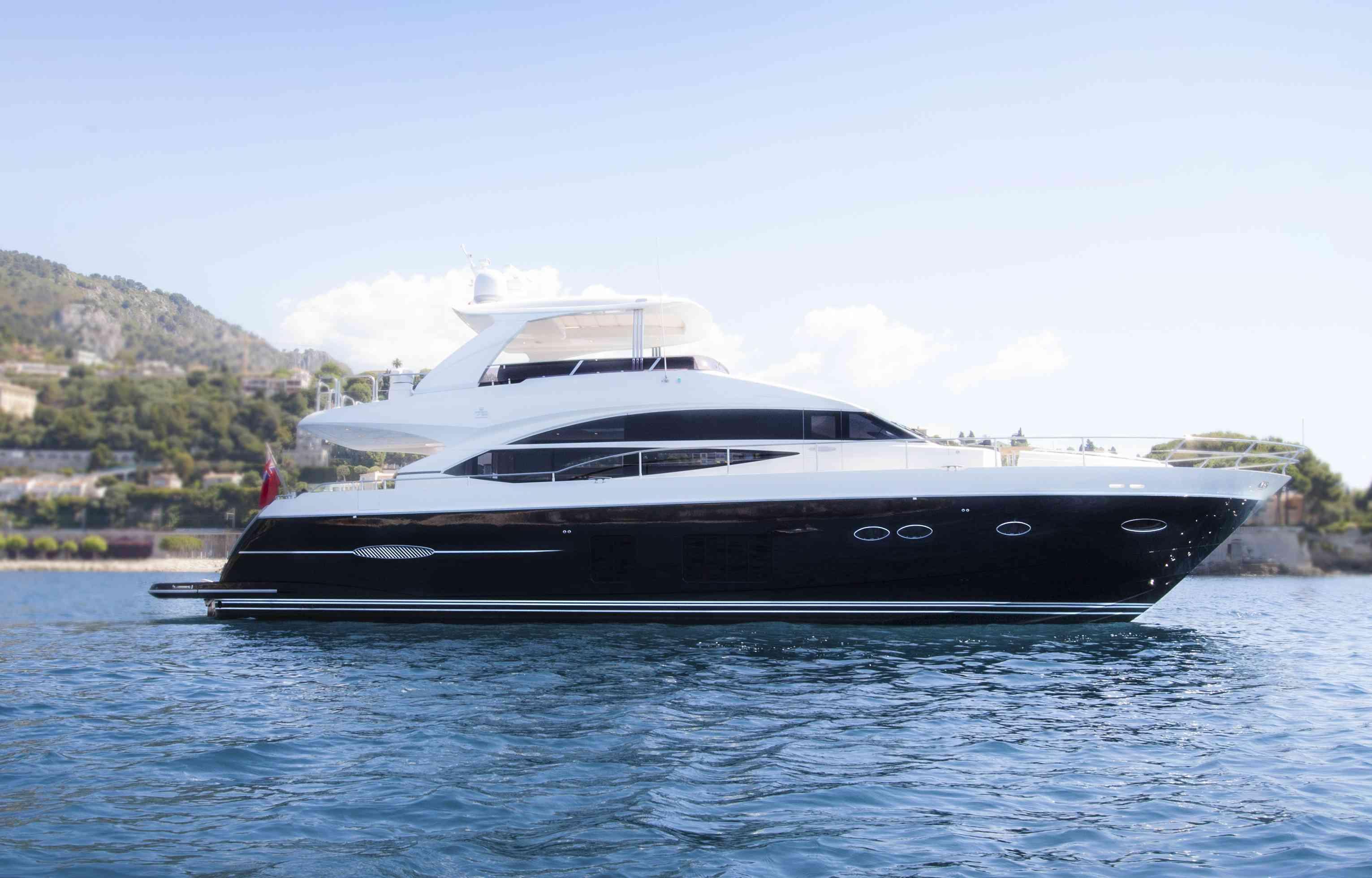 Moka Yacht Charter Princess Charter