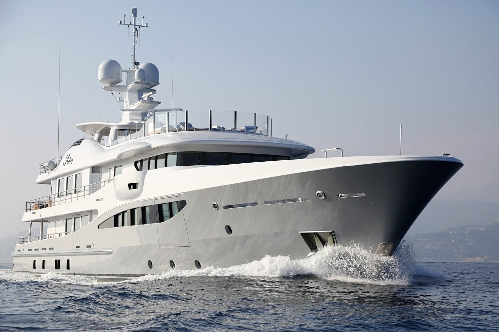Astra Amels Yacht for Charter | Princess Yacht Charter