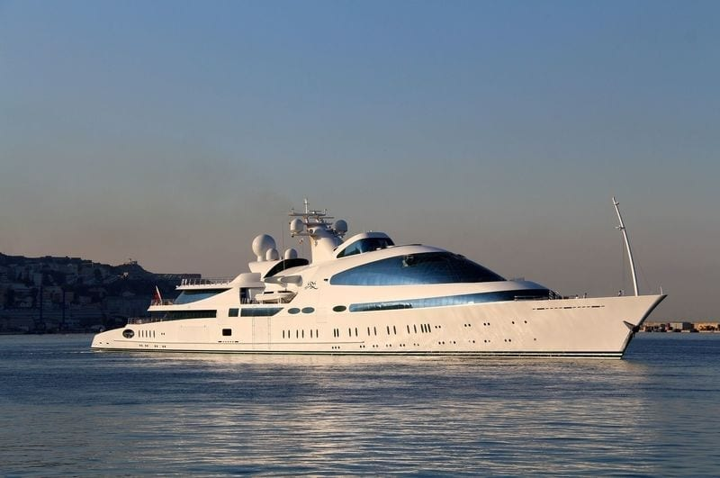 super yacht rental