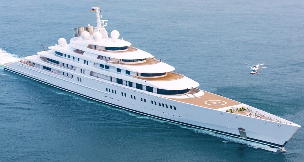 10 Of The Largest Yachts In The World In 2019 Princess Yacht Charter